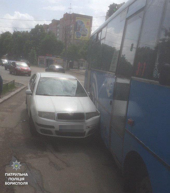 В Борисполі неуважність водіїв призвела до двух аварій, фото-1