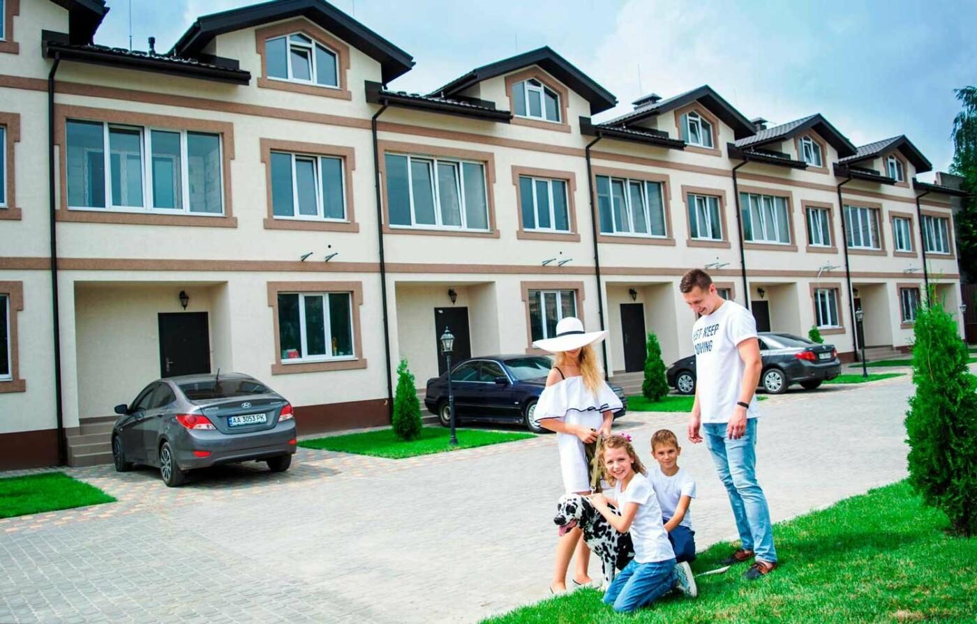 Котеджне містечко «ПАЛАРІС» в Борисполі: таунхаус за ціною квартири!, фото-1