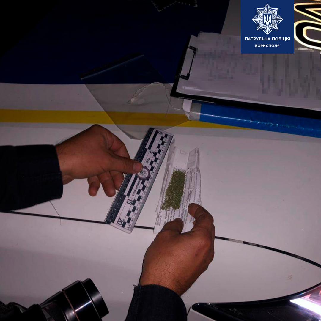 В Борисполі зупинили водія «під кайфом» та без документів, фото-1