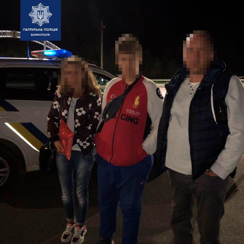 Патрульні Борисполя повернули додому дитину, фото-1