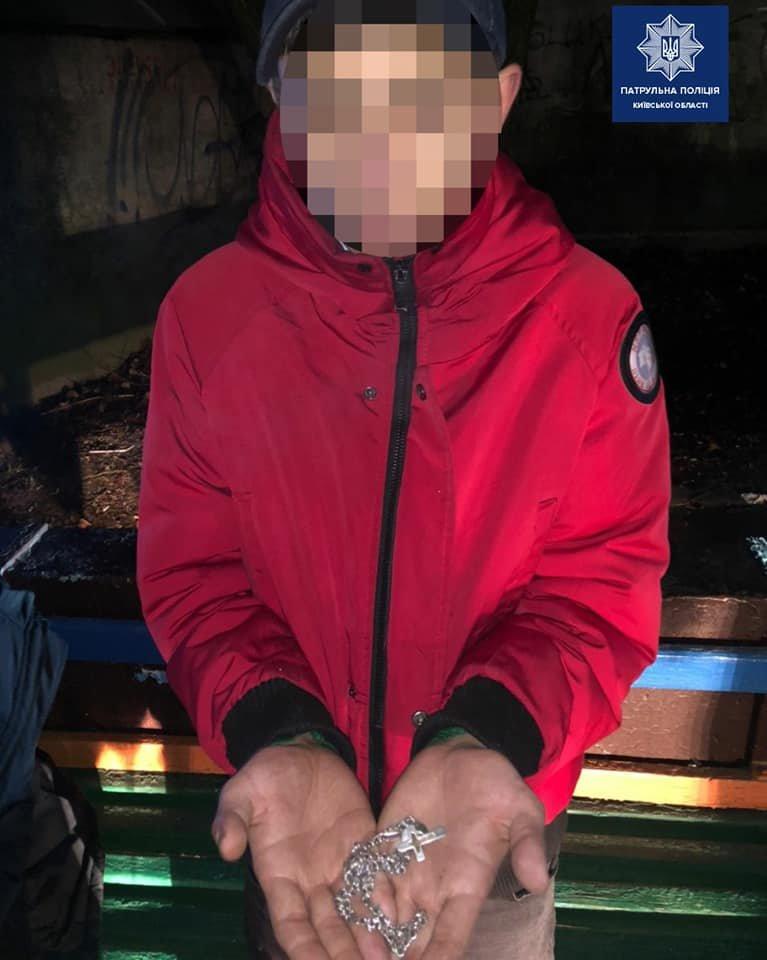 В Борисполі за гарячим слідом затримали грабіжників, фото-1