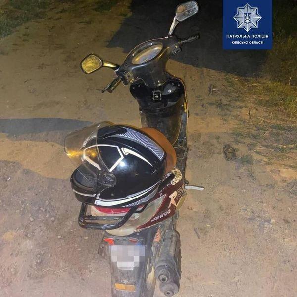 В Борисполі протягом ночі зупинили двох п'яних водіїв мопедів, фото-1