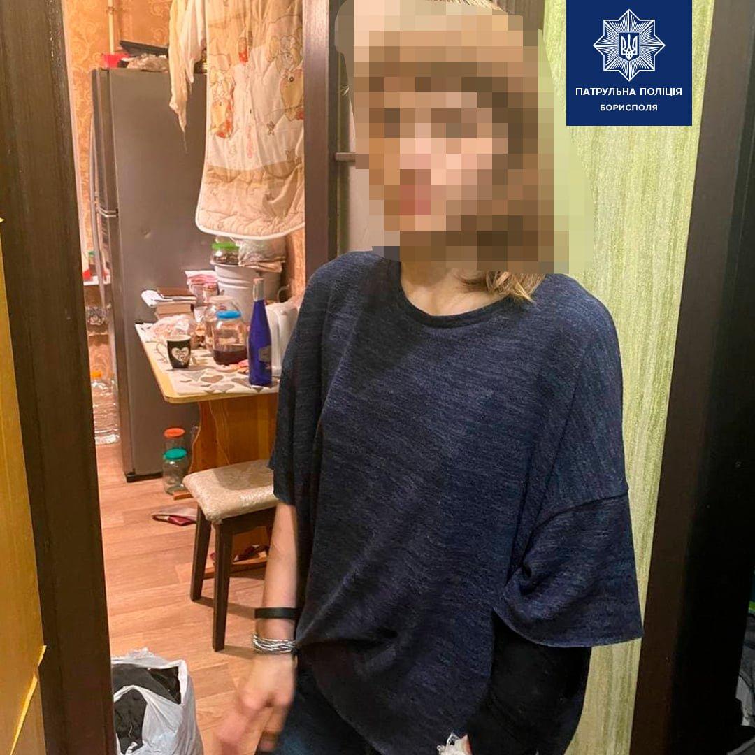 В Борисполі жінка погрожувала вбити свою матір та дитину , фото-1